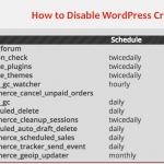 How to Disable WordPress Cron jobs initiated by wp-cron.php? Use cPanel Cron job instead