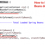 How to Report / Print List of All Loaded Spring Beans during your Spring MVC Application Startup