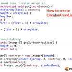 How to Implement Simple CircularArrayList in Java?