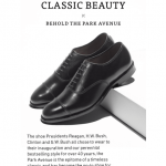 Email Case Study: Social Proof Email from Allen Edmonds