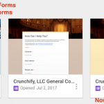 Google Form finally became THE only Contact Form for me and for WordPress Users