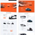 Get a FREE Transportation Services Layout Pack for Divi