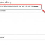 How to Add a Message Before Your WordPress Comment Fields
