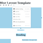 How to Create Gutenberg Templates