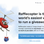 How to Hold a Rafflecopter Giveaway with WordPress